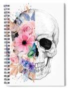 Floral Skull 2 Spiral Notebook