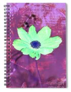 Flower 2918 Spiral Notebook