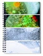 Flower Junk  Spiral Notebook