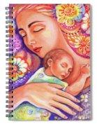Flower Nap Spiral Notebook