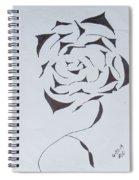 Flower Opening Spiral Notebook