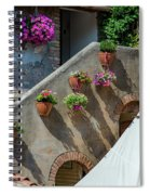 Flowering Spiral Notebook