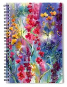 Flowers Fairy Tale Spiral Notebook