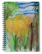 Flowers In A Forest Spiral Notebook