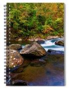 Flowing Waters Spiral Notebook
