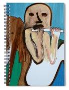 Flute Player Spiral Notebook