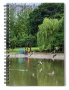 Flying Geese Spiral Notebook
