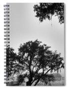 Fog Landing Spiral Notebook