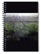 Foggy Web Spiral Notebook
