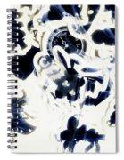 Follow The Blue Rabbit Spiral Notebook