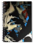 Folsom Blues _ Johnny Cash  Spiral Notebook