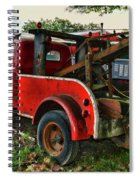 Ford F4 Tow The Truck Business End Spiral Notebook
