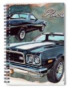 Ford Ranchero 500 Spiral Notebook