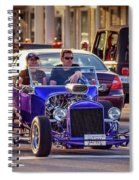 Ford T-bucket Hot Rod Spiral Notebook