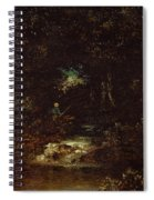 Forest Landscape  Spiral Notebook