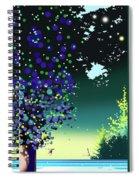 Forest Morning Spiral Notebook