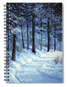 Forest Road Spiral Notebook