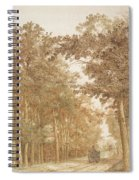 Forest Road Wi  Spiral Notebook