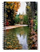 Forest With River Spiral Notebook