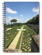 Formal Walk Spiral Notebook