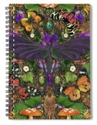 Forms Of Nature #3 Spiral Notebook