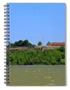 Fort Ticonderoga, From Lake Champlain. Spiral Notebook