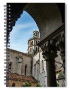 Fossanova Abbey Spiral Notebook
