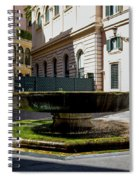 Fountain Square St. Eustace Spiral Notebook