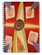 Four Points Less Known Spiral Notebook