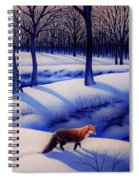 Fox Hunt Creek Spiral Notebook