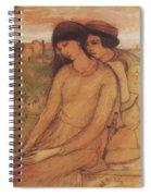 Francesca Da Rimini And Paolo Malatesta 1903 Spiral Notebook