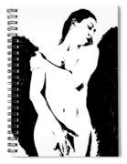 Frankie The Dark Angel Spiral Notebook