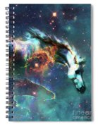 Free Of The Carousel II Spiral Notebook