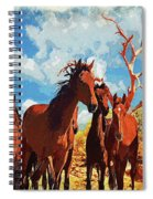 Free Spirits Spiral Notebook