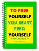 Free Yourself Spiral Notebook