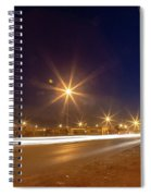 Freedom Square Long Exposure Spiral Notebook