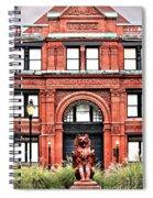 Freemason's Hall Historic Savannah Spiral Notebook