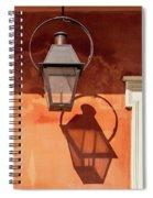 French Quarter Shadows Spiral Notebook