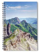 French Village In The Pyrenees Spiral Notebook