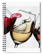 French Wines Spiral Notebook