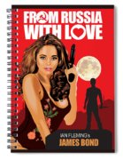 From Russia With Love Spiral Notebook