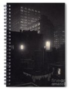 From The Back Window, 291 Ny Winter Spiral Notebook