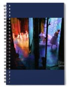 Front Stage, Back Stage Spiral Notebook