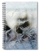 Frost From Canada Spiral Notebook