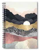 Frost Reflection Spiral Notebook