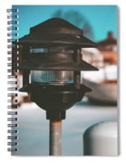 Frozen Seaport Spiral Notebook