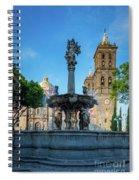 Fuente De Puebla Spiral Notebook