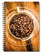 Full Of Beans Spiral Notebook