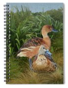 Fulvous Whistling Ducks  Spiral Notebook