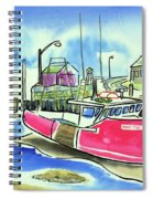 Fundy Tide Hall's Harbour Spiral Notebook